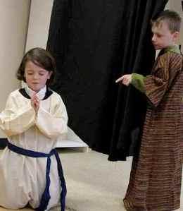 Daniel is caught praying!