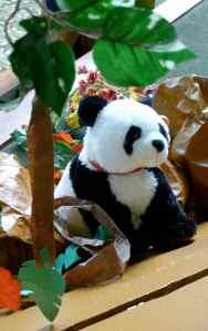 A stuffed Panda bear