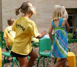 PreK Games: Musical Chairs