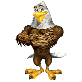 The Bible Buddy for day 3: Scout the Eagle