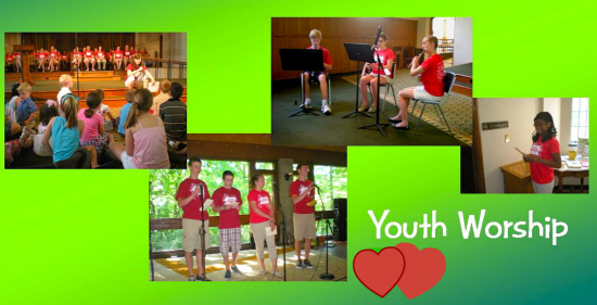 photos from Youth Worship in 2012