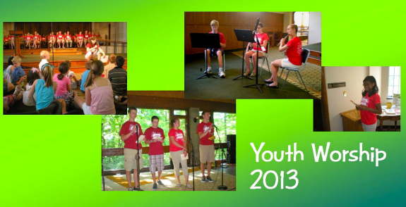 Youth Worship 2013 banner logo