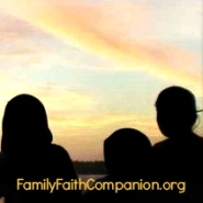 a blog button for Family Faith Companion dot org