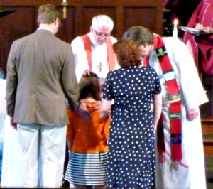 a youth gets confirmed