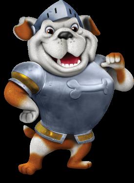 Day one Bible Memory Buddie - Truman the Bulldog