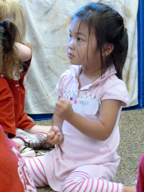 Preschool: Bible Adventures - listening intently