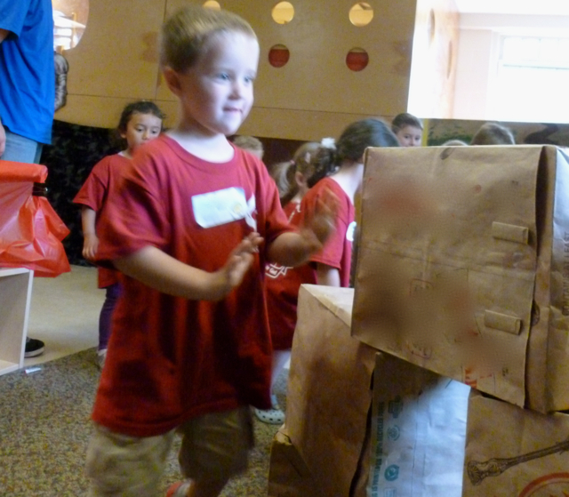 Preschool Bible Adventures: Knocking down the walls of Jerusalem