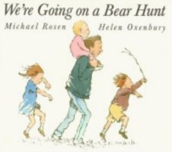 the cover of the book We're Going on a Bear Hunt