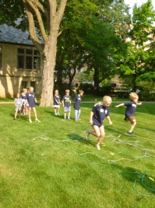 A challenging relay race