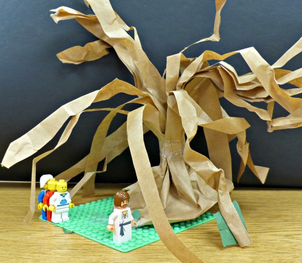 Lego creations of the Garden of Gethsemane