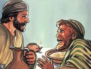 Peter tells Jesus I'll never deny you